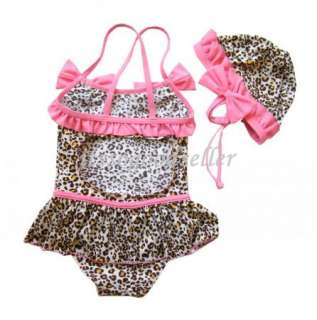 Girl Baby Swimwear Tankini Swimsuit Bikini Bather 2 7Y