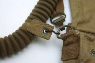 Rare WWII Service Respirator No4 III Gas Mask Long Hose + MkVI Case