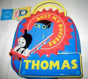 NWT THOMAS THE TRAIN STATIONARY SET WITH LARGE CASE