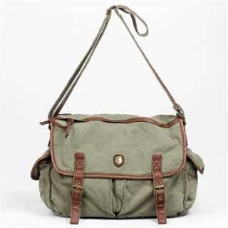 Fashion Mans Canvas Messenger Bag Shoulder Bag Tote Single Shoulder