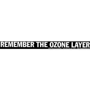 Remember The Ozone Layer: Automotive