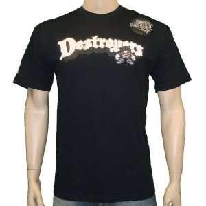 Nike Mens Destroyers West Coast T Shirt Black