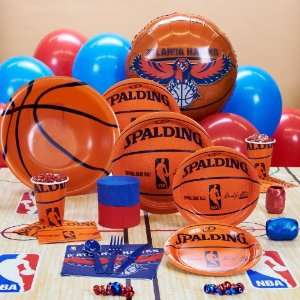 Amscan Atlanta Hawks NBA Basketball Deluxe Party Kit (18
