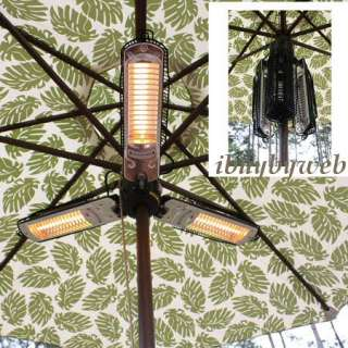 Fire Sense 60404 Umbrella Halogen Outdoor Patio Heater NEW