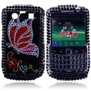 Crystal Diamond Bling Case Cover for Blackberry 9700