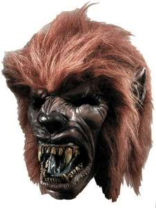 WEREWOLF W/HAIR MASK COSTUME PARTY HALLOWEEN ACCESSORY