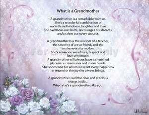 Personalized Grandma Prayer Name Poem   Nana