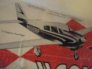 BERKELEY PIPER COMANCHE RADIO CONTROLLED MODEL AIRPLANE KIT