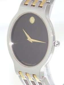 Esperanza Black Museum Dial Quartz Two Tone Stainless Steel Watch