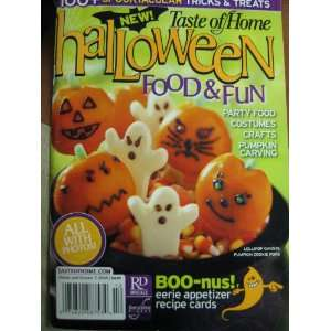 New Taste of Home Halloween Food & Fun (Party Food, Costumes, Crafts