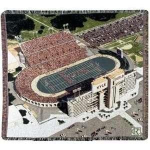 Texas A & M University Aggies Kyle Field NCAA Afghan Throw