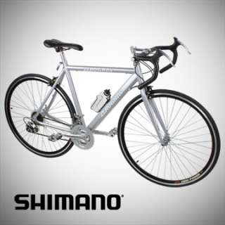 NEW ALUMINUM ROAD RACING BICYCLE BIKE 18SP SHIMANO 54CM