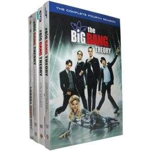 THE BIG BANG THEORY SEASONS 1 4 DVD COMPLETE SERIES NEW 1 2 3 4