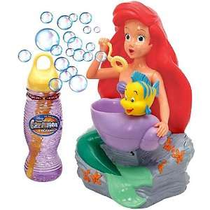 com Disney Little Mermaid Ariel Motorized Bubble Blower Toys & Games