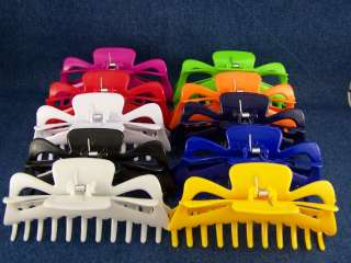 Big HUGE plastic hair clip claw clamp 5.25 long Large