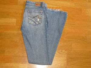 Womens BKE Buckle Blue Jeans Size 27 Stretch ELEMENT
