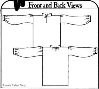 Missouri River Mountain Man 1800s Work Shirt Pattern
