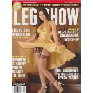 Dec 2006 Leg Show Magazine: Dian Hanson: Books