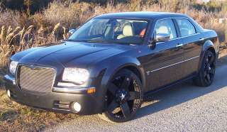 22 INCH Black Out Chrysler 300 C 300C Wheels Rims 5 L