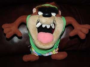 Looney Tunes Taz Tasmanian Devil Wearing T shirt and Shorts 8