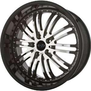 Privat Bremsen Black Machined Wheel (20x8.5/5x112mm