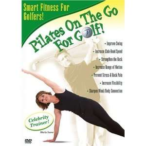 Pilates on the Go   For Golf: Maria Leone: Movies & TV