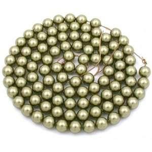 Light Green Swarovski Crystal Pearl Beads Parts 6mm