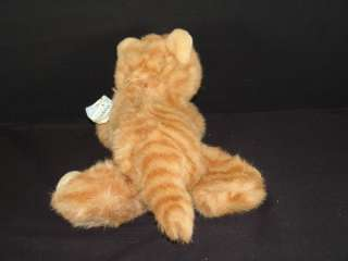 NEW PLUSH ORANGE TIGER TABBY CAT KITTEN STUFFED ANIMAL