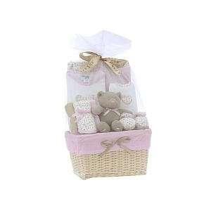 Cutie Pie Baby 10 Piece Fancy Gift Basket   Pink Leopard