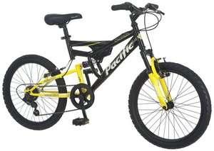 20 Boys Chromium Bicycle Dual Suspension Mountain Bike  201150P