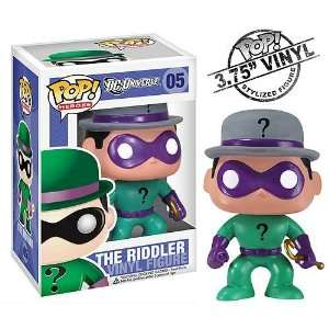 The Riddler Pop Heroes   DC Universe   Vinyl Figure Toys