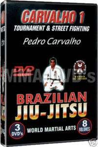 Pedro Carvalho Brazilian Jiu Jitsu Series 1 NEW DVDs