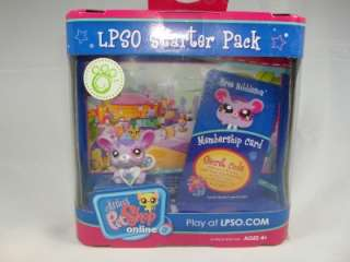 Littlest Pet Shop LPSO starter pack Bree Nibbleson New