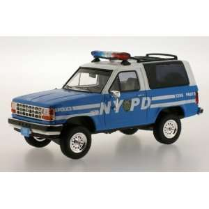 43 NYPD New York City Police 1989 Ford Bronco: Toys & Games