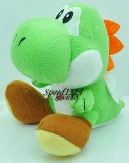 Super Mario Bros 7 GREEN YOSHI Plush Doll # MT105