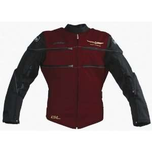 JOE ROCKET WOMENS SUPERTOUR TEXTILE JACKET DARK RED XS