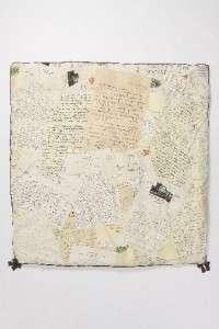 Anthropologie Love Letters Duvet Cover Queen AND 2 Standard Shams NIP