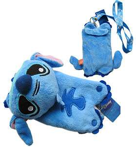Disney Lilo & Stitch Plush Bag Cell phone Holder Pouch
