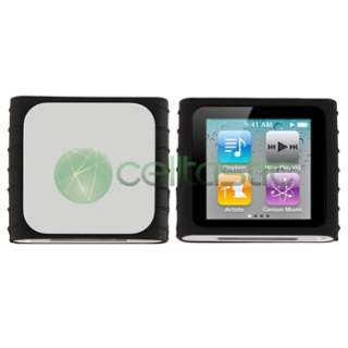 in 1 Soft Rubber Silicone Gel Case Skin Cover+Lanyard Holder For