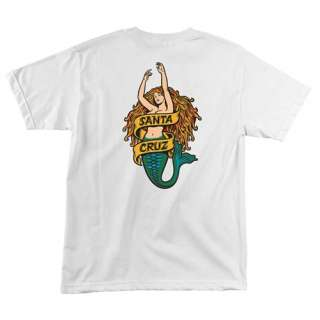Old School Santa Cruz T Shirt Jason Jessee Neptune Mermaid Tee Shirt