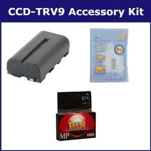 Sony CCD TRV9 Camcorder Accessory Kit includes HI8TAPE Tape