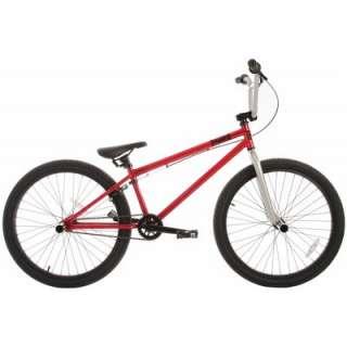 Framed FX24 BMX Bike Red/Silver 24