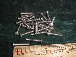 10/32x1 Button Head Cap Screws Bolts, 25 pcs STAINLESS STEEL Hot Rod