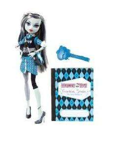 Monster High Frankie Stein Doll SCHOOLS OUT w/ Diary ~ Daughter of