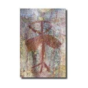 Chumash Indian Pictograph California Giclee Print: Home