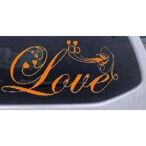 Love Swirl With Hearts Christian Car Window Wall Laptop Decal Sticker