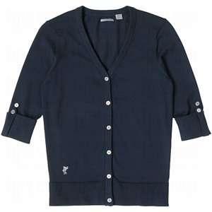 Ashworth Ladies Full Button Cardigan Sweater