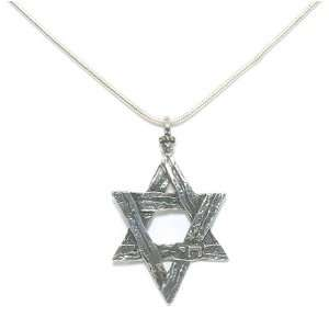 Boys Star Necklace with Chai   by Ben Zion David