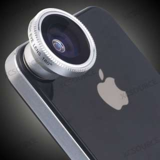 Fish Eye Camera Lens for iPhone 4 4S 4G itouch HTC EVO 3D DC071