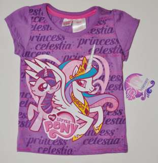 NEW MY LITTLE PONY CANTERLOT PRINCESS CELESTIA SHIRT TOP